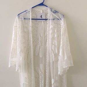 Other - Swimsuit coverup kimono